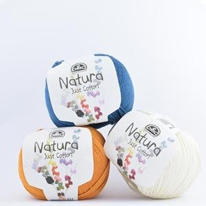 DMC Natural Just Cotton šukuotinės medvilnės siūlai