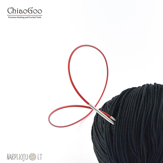 ChiaGoo Virbalai su valu RED Lace