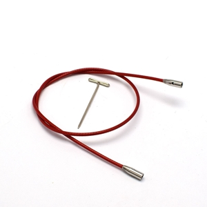ChiaoGoo valas prisukamiems virbalams TWIST Red Cable
