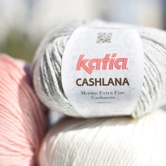 Mezgimo siūlai KATIA Cashlana