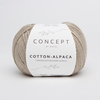 KATIA Cotton-Alpaca mezgimo siūlai su medvilne ir jaunų alpakų vilna