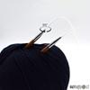 ChiaoGoo SPIN skaidrus nailoninis valas prisukamiems virbalams