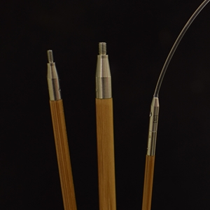 ChiaoGoo SPIN Bamboo prisukami bambukiniai virbalai (13 cm)