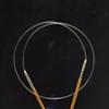 ChiaoGoo SPIN skaidrus rotacinis nailoninis valas prisukamiems virbalams