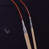 ChiaoGoo T-SPIN prisukami bambukiniai tunisietiški vąšeliai su Twist RED valu