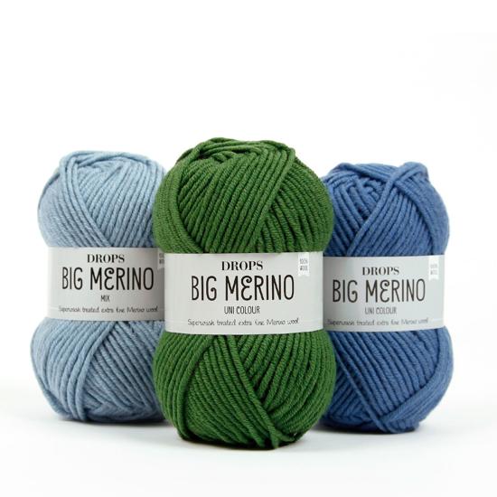 DROPS  Big Merino (100% merinosų vilna)