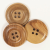 DROPS medinės sagos (25 mm)