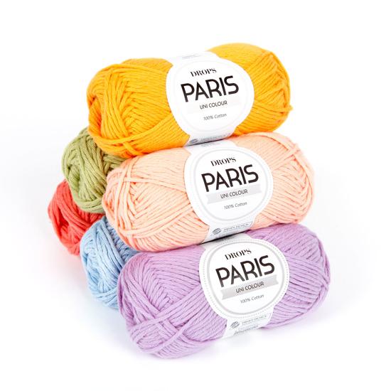 DROPS Paris (100% medvilnė)