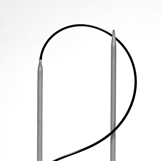 KnitPro Basix Aluminium virbalai su valu