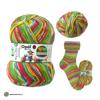 OPAL Schafpate X die Geburtstagsparty 4-ply spalvoti mezgimo siūlai kojinėms