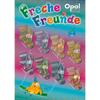 OPAL Freche Freunde mezgimo siūlai kojinėms