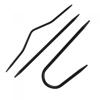 KnitPro įvairių formų virbalai pynėms