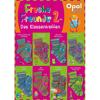 OPAL Freche Freunde 2 spalvingi mezgimo siūlai kojinėms
