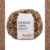 Merino 100% Craft - ypatingai švelnūs ir minkšti merino vilnos siūlai mezgimui
