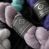 WYS Exquisite Lace mezgimo siūlai (80% Folklando avių vilna; 20% Mulberry šilkas)
