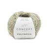 KATIA Polynesia mezgimo siūlai (56% medvilnė, 22% linas, 22% viskozė)