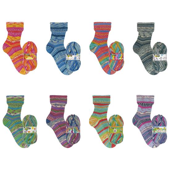 OPAL 25 Jahre mezgimo siūlai kojinėms
